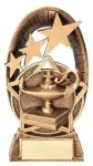 Radiant Stars Lamp Of Knowledge Trophy Gold Series