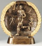 Resin Plate -Basketball Male Gold Series