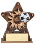 Star Burst Resin -Soccer Gold Series