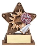 Star Burst Resin -Cheerleading Gold Series