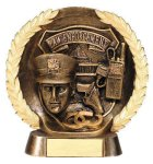 Resin Plate -Law Enforcement Police Gold Series