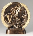 Resin Plate -Victory Gold Series
