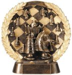 Resin Plate -Chess Gold Series