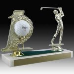 Golf Hole In One Trophy Golf Trophy Awards
