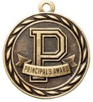 Principal's Award 2 Round Sculptured Medal   High Relief Series Medals