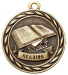 Reading 2 Round Sculptured Medal   High Relief Series Medals