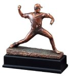 Baseball Pitcher Large Figure Trophies