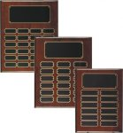 Rosewood Piano Finish Perpetual Plaque Large Perpetual Plaques
