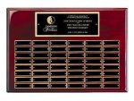 Perpetual Plaque Board with Heavy Lacquer Finish Large Perpetual Plaques