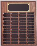 Perpetual Plaque Assembled with Black Plates Large Perpetual Plaques