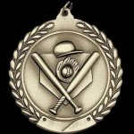 M Series Sculptured Medal Baseball Large Sculptured Series Medals
