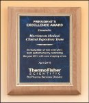 Alder wood plaque Marble Awards