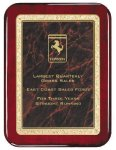 Rosewood Piano  Finish Plaque Marble Awards