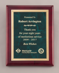 Rosewood Plaque Marble Awards