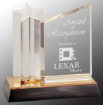 Star Column with Acrylic Plaque Religious Awards