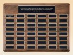 American Walnut Perpetual Plaque Religious Awards