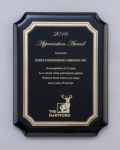 Black High Gloss Plaque Religious Awards