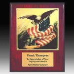 Piano Finish Eagle Plaque Religious Awards