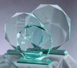 Premium Glass Octagon Religious Awards