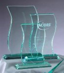 Premium Glass Wave Religious Awards