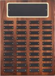 Genuine Walnut Perpetual Plaques Religious Awards