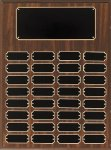 Walnut Finish Perpetual Plaque Religious Awards