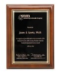 Walnut Piano Finish Corporate Plaque Religious Awards