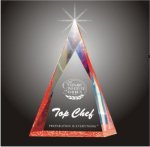 Multi Faceted Pyramid Acrylic Award Religious Awards
