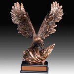Large Eagle Trophy Resin Trophies