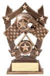 3D Sport Stars -Racing Resin Trophies