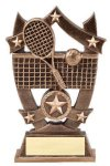 3D Sport Stars -Tennis Resin Trophies