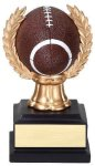 Wreath Sport Ball -Football Resin Trophies