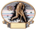 Motion X Oval -Hockey Male  Resin Trophies