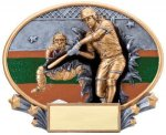 Motion X Oval  Softball Resin Trophies