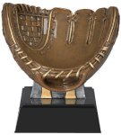 Motion X -Softball Glove Resin Trophies