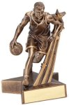 Super Star -Basketball Male Resin Trophies