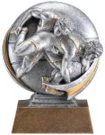 Motion X 3-D -Wrestling Male Resin Trophies