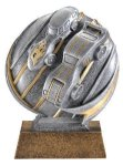 Motion X 3-D -Pinewood Derby Resin Trophies