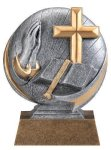 Motion X 3-D -Religion Resin Trophies