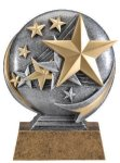 Motion X 3-D -Stars Resin Trophies