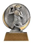Motion X 3-D -Softball Female Resin Trophies