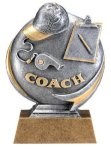Motion X 3-D -Coach Resin Trophies