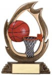 Flame Series -Basketball Resin Trophies