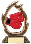 Flame Series -Boxing Resin Trophies