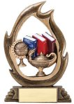 Flame Series -Knowledge Resin Trophies