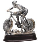 Mountain Cycling Resin Trophies