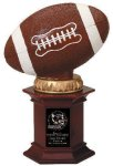 Football On Base Resin Trophies
