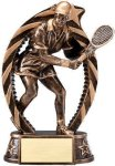 Bronze and Gold Award -Tennis Female Resin Trophies