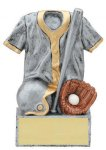 Baseball Jersey Resin Trophies