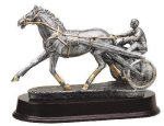 Harness Racing-Sulky Resin Trophies